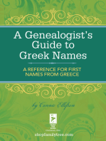A Genealogist's Guide to Greek Names