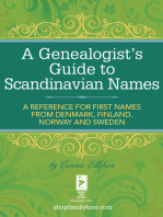 A Genealogist's Guide to Scandinavian Names