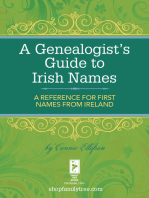 A Genealogist's Guide to Irish Names