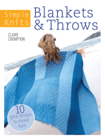 Simple Knits - Blankets & Throws