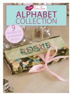 I Love Cross Stitch Alphabet Collection