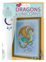 I Love Cross Stitch Dragons & Unicorns