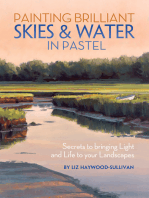 Painting Brilliant Skies & Water in Pastel