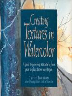 Creating Textures in Watercolor