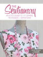 The Sewtionary