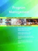 Program Management Complete Self-Assessment Guide