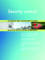 Security control Complete Self-Assessment Guide