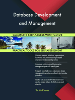 Database Development and Management Complete Self-Assessment Guide