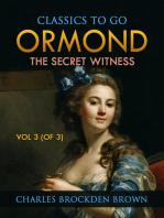 Ormond; Or, The Secret Witness. Volume 3 (of 3)