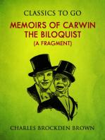 Memoirs of Carwin the Biloquist (A Fragment)