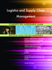 Logistics and Supply Chain Management Complete Self-Assessment Guide