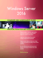Windows Server 2016 Complete Self-Assessment Guide