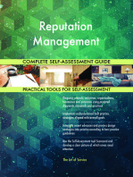 Reputation Management Complete Self-Assessment Guide