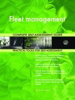 Fleet management Complete Self-Assessment Guide