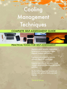 Cooling Management Techniques Complete Self-Assessment Guide