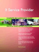 It Service Provider Complete Self-Assessment Guide