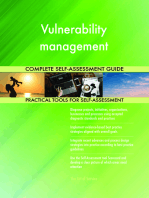Vulnerability management Complete Self-Assessment Guide