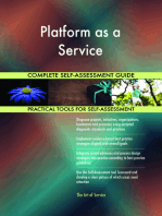 Platform as a Service Complete Self-Assessment Guide
