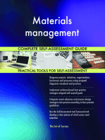 Materials management Complete Self-Assessment Guide