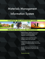 Materials Management Information System Complete Self-Assessment Guide