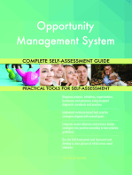 Opportunity Management System Complete Self-Assessment Guide