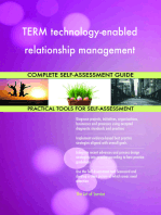 TERM technology-enabled relationship management Complete Self-Assessment Guide