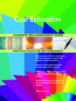 Cost Estimation Complete Self-Assessment Guide