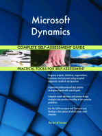 Microsoft Dynamics Complete Self-Assessment Guide