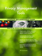 Privacy Management Tools Complete Self-Assessment Guide