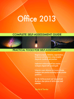 Office 2013 Complete Self-Assessment Guide
