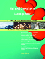 Risk and Compliance Management Complete Self-Assessment Guide