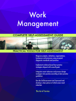 Work Management Complete Self-Assessment Guide