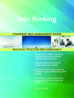 lean thinking Complete Self-Assessment Guide