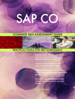 SAP CO Complete Self-Assessment Guide