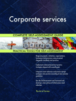 Corporate services Complete Self-Assessment Guide
