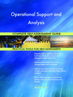 Operational Support and Analysis Complete Self-Assessment Guide