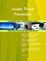 Insider Threat Prevention Complete Self-Assessment Guide