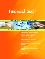 Financial audit Complete Self-Assessment Guide
