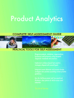Product Analytics Complete Self-Assessment Guide