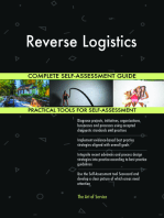 Reverse Logistics Complete Self-Assessment Guide