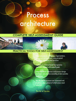 Process architecture Complete Self-Assessment Guide