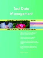 Test Data Management Complete Self-Assessment Guide