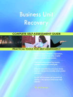 Business Unit Recovery Complete Self-Assessment Guide