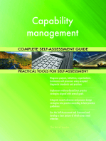 Capability management Complete Self-Assessment Guide
