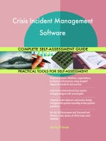 Crisis Incident Management Software Complete Self-Assessment Guide