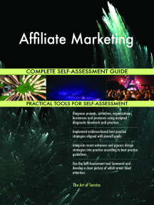 Affiliate Marketing Complete Self-Assessment Guide