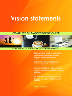Vision statements Complete Self-Assessment Guide
