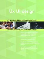 Ux UI design Complete Self-Assessment Guide