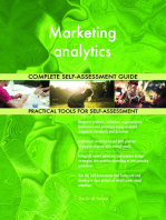 Marketing analytics Complete Self-Assessment Guide