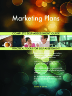 Marketing Plans Complete Self-Assessment Guide